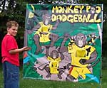 Monkey Poo Dodgeball Game Rental